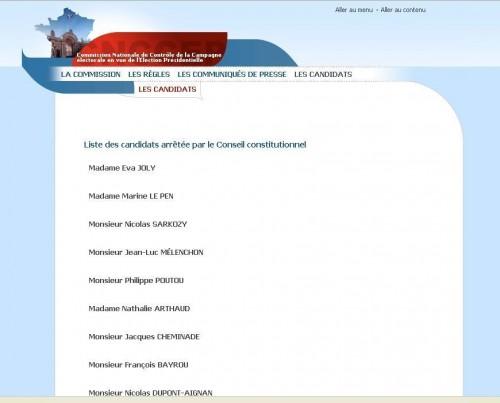 Liste des candidats retenue par le Conseil Constitutionnel.jpg