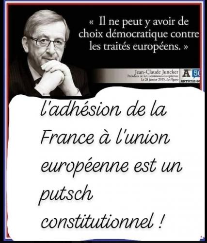 Il ne peut y avoir de choix démocratique contre les traités de l'UE.JPG